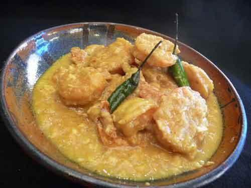 How to make Bengali Shrimp Curry aka Chingri Malakari,indian recipe
