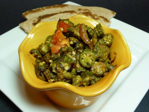 how to make masala lady finger
