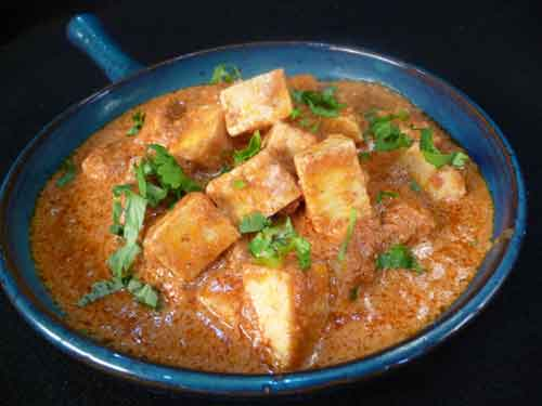 How to make Butter Paneer aka Panir Makhani, Indian Vegetarian Recipe ...