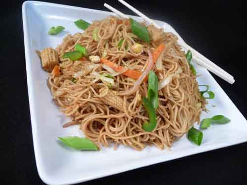 Indian Chinese Noodles recipe
