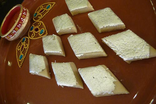 Kaju Burfi - Indian Sweet
