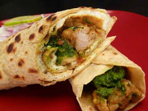 how to make chicken kathi roll or chicken frankie a great