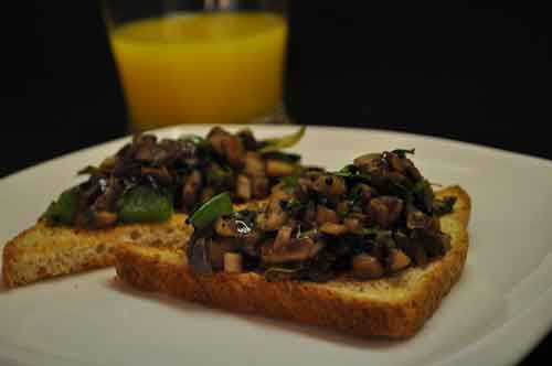 Mushrooms on Toast - Savory Breakfast Recipe by Show Me The Curry ...