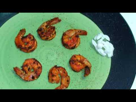 Pan Seared Shrimp Indian Cooking Video recipe by Show Me The Curry ...