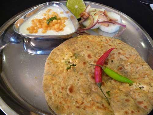 Paneer Kibbeh With Stuffed Paratha Recipes — Dishmaps