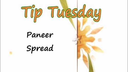 Paneer Spread – Tuesday Tip