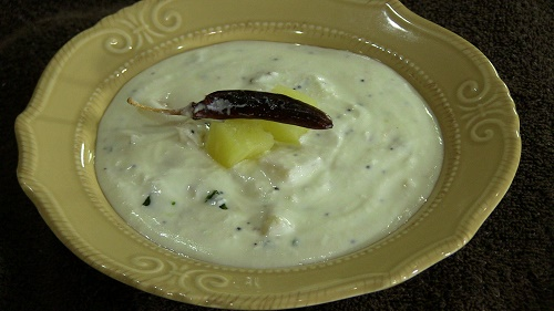 Pineapple (Anannas) Raita – Indian Vegetarian Yogurt Recipe