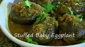 Stuffed Baby Eggplant – Indian Vegan Dish