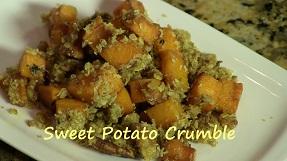 Sweet Potato Crumble Recipe – Perfect Eggless Thanksgiving Dessert